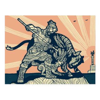 Postal del cazador de Berlín - de Bull