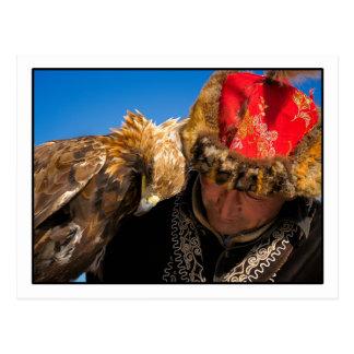 Postal del cazador de Eagle