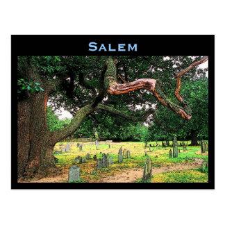 Postal del cementerio de Salem
