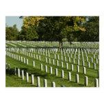 Postal del cementerio nacional de Arlington