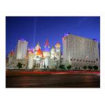 Postal del centro turístico de Excalibur Vegas