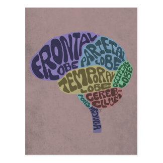 Postal del cerebro
