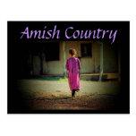 Postal del chica de Amish