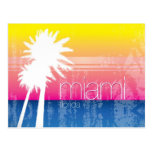 Postal del cielo de Miami