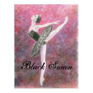 Postal del cisne negro