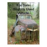 Postal del coche antiguo 611 para la venta