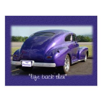 postal del coche de Fleetwood de la antigüedad 47