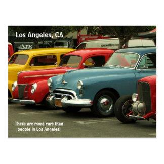 ¡Postal del coche de Los Ángeles!