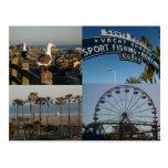 Postal del collage de Santa Mónica