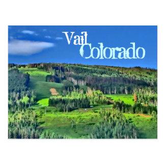 Postal del color de Vail Colorado