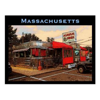 Postal del comensal de Massachusetts