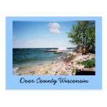 Postal del condado de Door Wisconsin