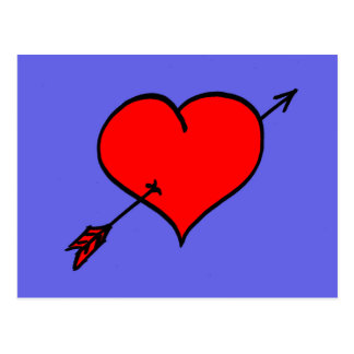 Postal del corazón