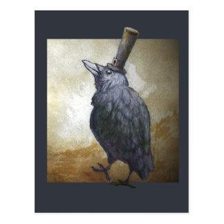 Postal del cuervo de noviembre
