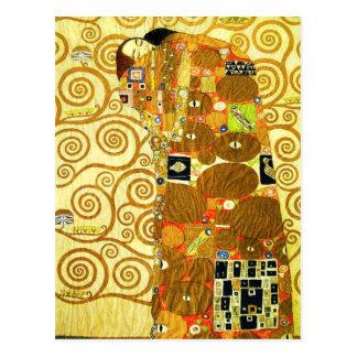 Postal del cumplimiento de Gustavo Klimt
