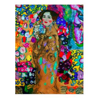 Postal del ~ de Gustavo Klimt