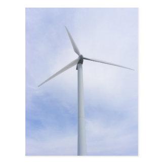 Postal del ~ de la turbina de viento