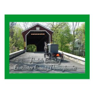 Postal del _del país de Amish
