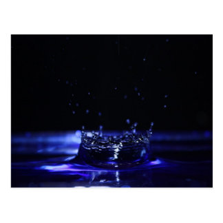 Postal del descenso del agua