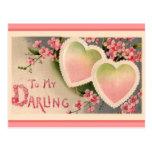 Postal del día de fiesta del el día de San Valentí