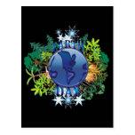 Postal del Día de la Tierra de las postales el | d