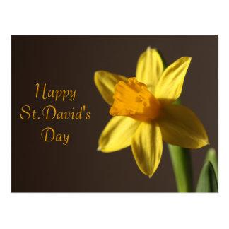 Postal del día de St David