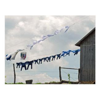 Postal del día del lavadero