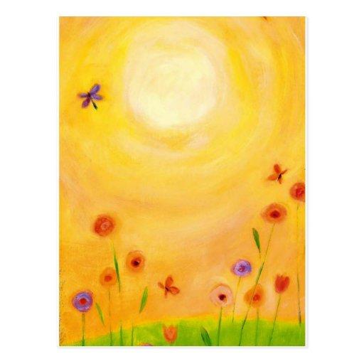 postal del día soleado