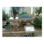 Postal del dinosaurio de Spinosaurus
