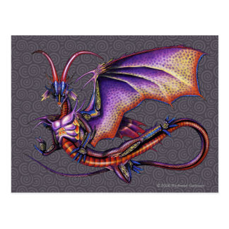 Postal del dragón del monarca
