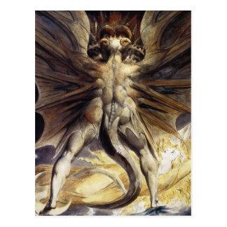 Postal del dragón:  por Guillermo Blake