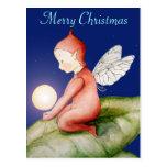 Postal del duende de las Felices Navidad