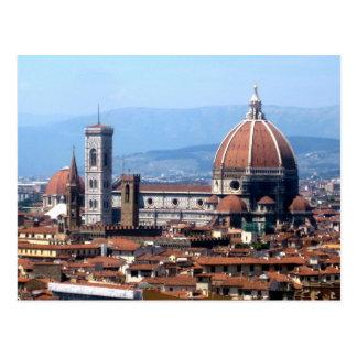 Postal del Duomo de Florencia
