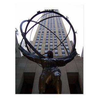 Postal del edificio de Atlas/NBC-Unversal