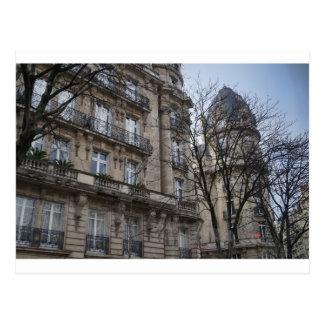 Postal del edificio de París
