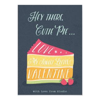 Postal del el día de San Valentín Invitación 12,7 X 17,8 Cm