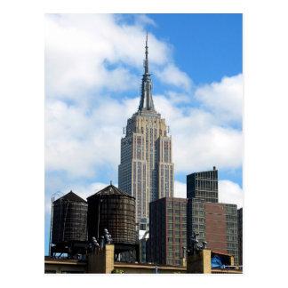 Postal del Empire State Building