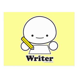 Postal del escritor