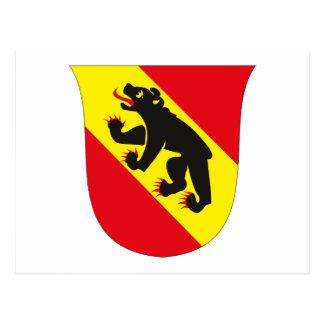 Postal del escudo de armas de Berna