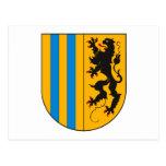 Postal del escudo de armas de Chemnitz