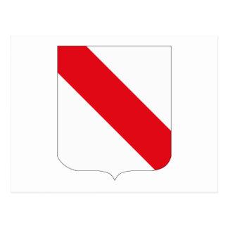 Postal del escudo de armas de Estrasburgo