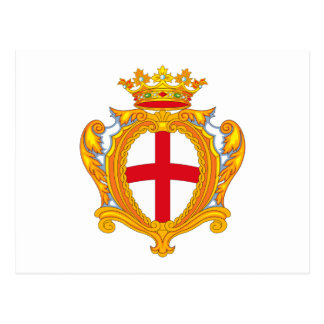 Postal del escudo de armas de Padua