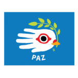 Postal del español de la paz