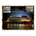 Postal del estadio de 3 ríos