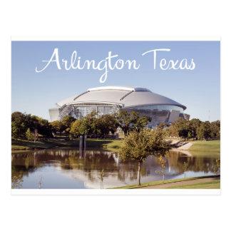 Postal del estadio de los Dallas Cowboys de