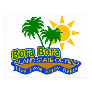 Postal del estado de ánimo de Bora Bora