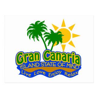 Postal del estado de ánimo de Gran Canaria