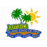 Postal del estado de ánimo de Jamaica