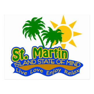 Postal del estado de ánimo de San Martín