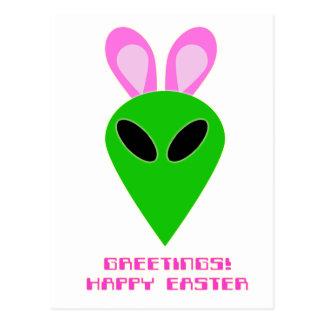 Postal del extranjero de Pascua